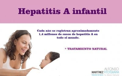 Hepatitis A infantil
