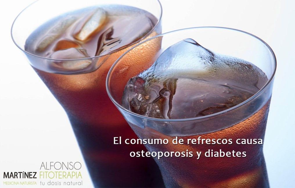 Consumo del refresco y la osteoporosis