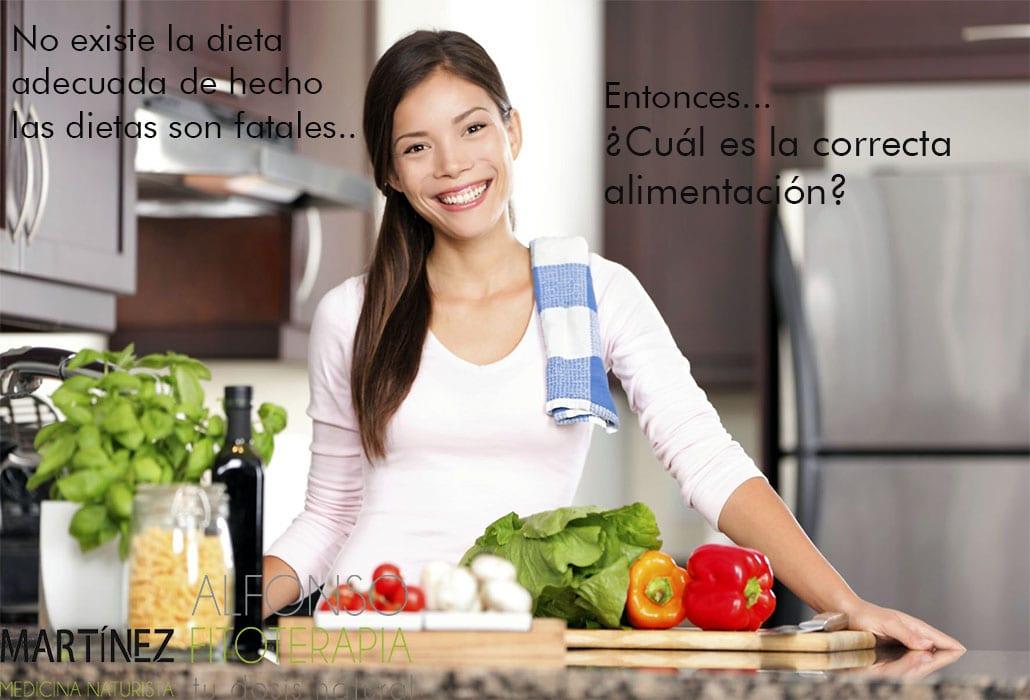 ¿Cómo es la correcta alimentación?