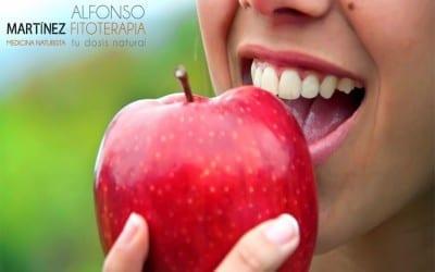 Cómo blanquear la piel con fruta