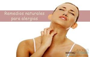 Remedios naturales para alergias