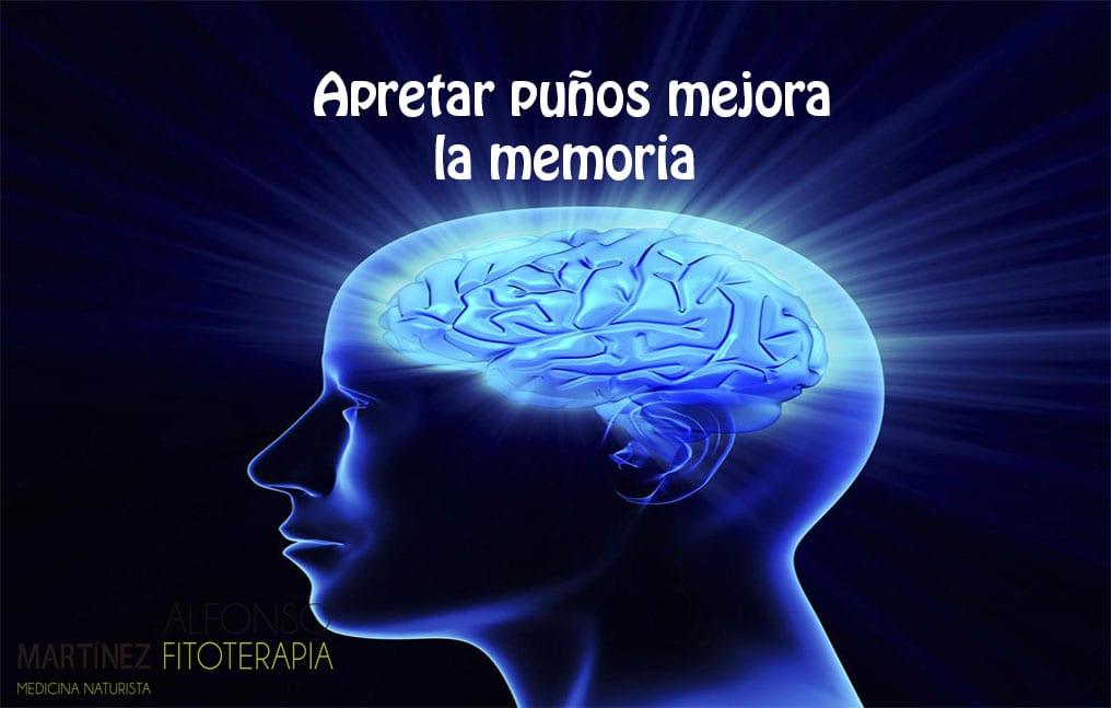 apretar los puños mejora la memoria