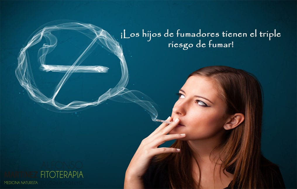 hijos fumadores