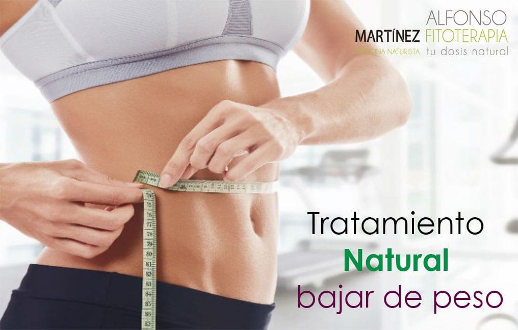 Tratamiento natural para perder peso