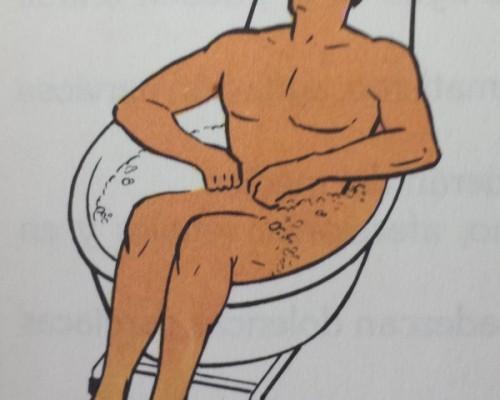Baño de asiento No.40