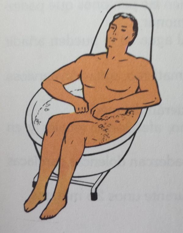 Baño de asiento