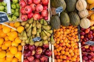 Laca en las frutas