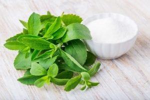 stevia medicinal y edulcorante