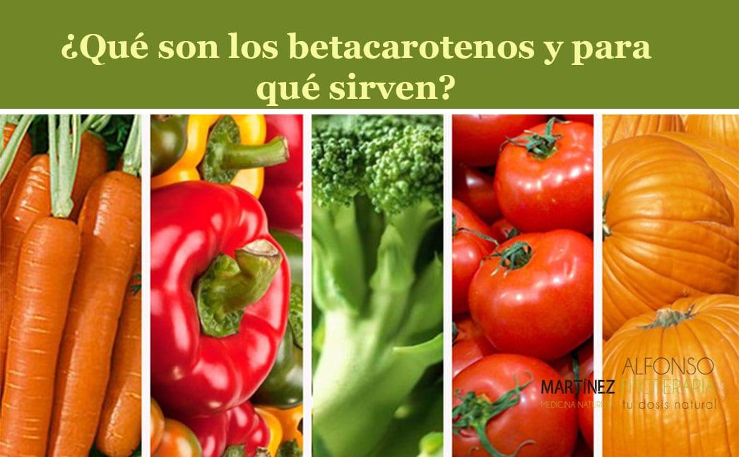 que son los betacarotenos