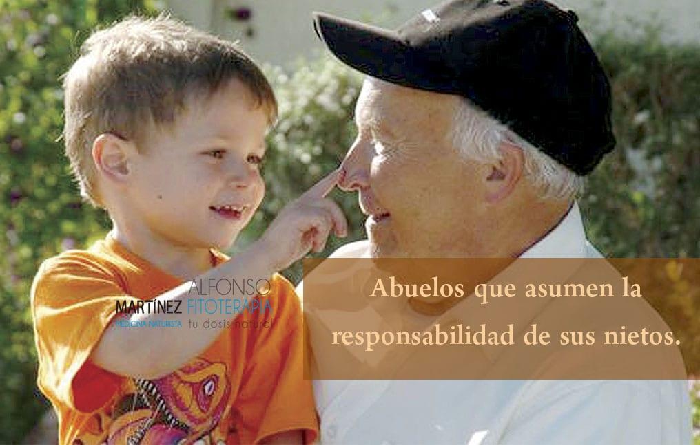 Abuelos cuidadores