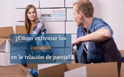 Cambios en la relacion de pareja