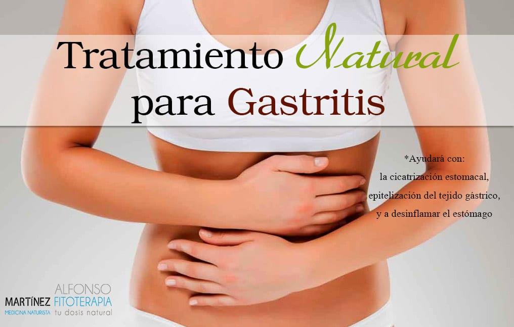 Tratamiento natural para gastritis