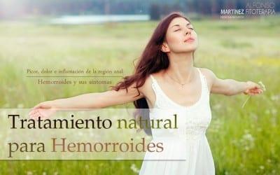 Tratamiento natural para las hemorroides