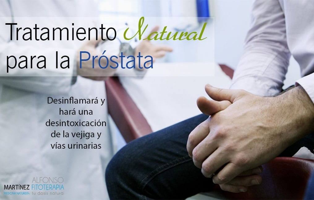 tratamiento para la próstata
