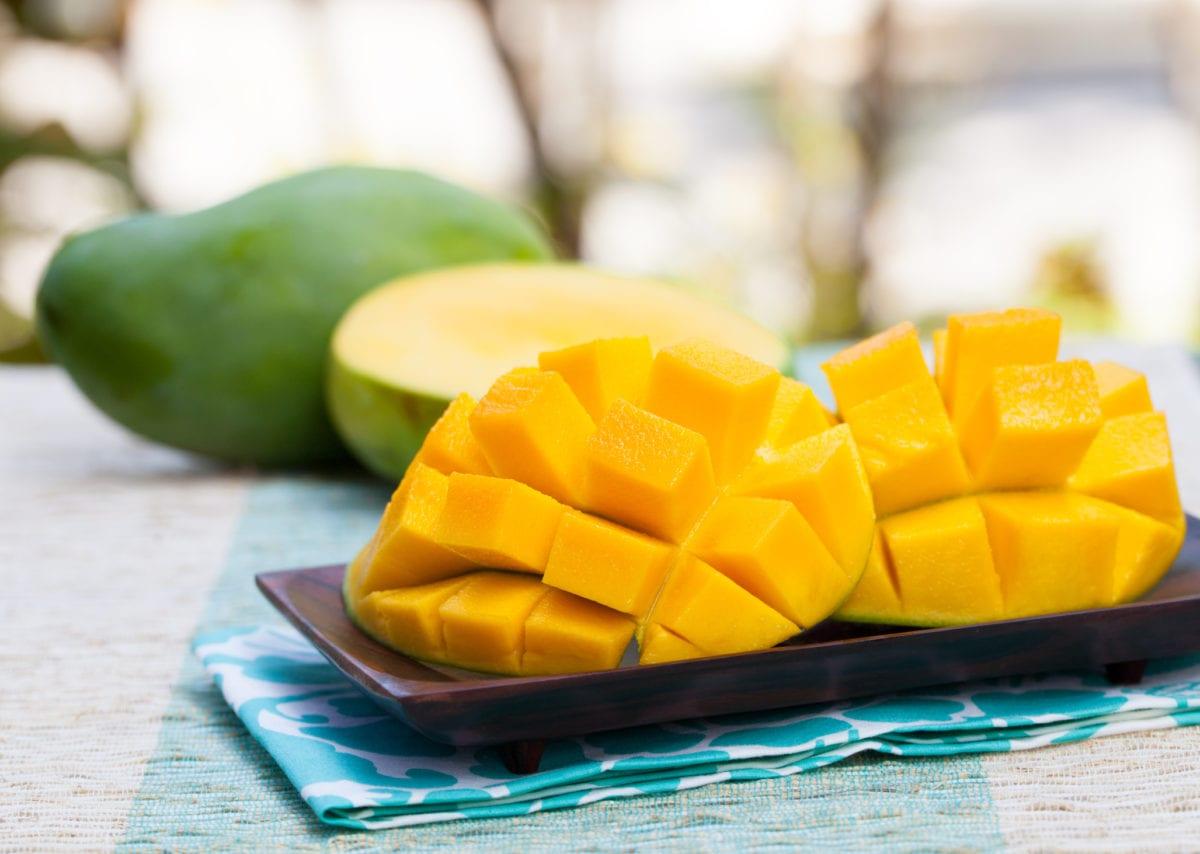 Fruta para las encías