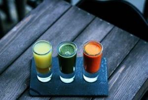 Jugos y bebidas saludables