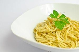 Pasta blanca vegana