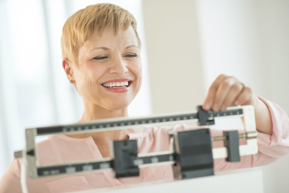Edad adulta y perdida de peso.