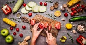 Alimentos según su color.