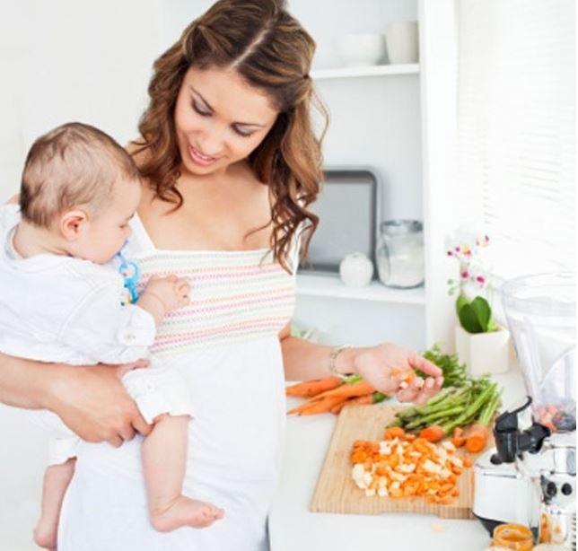 Alimentación para madres.