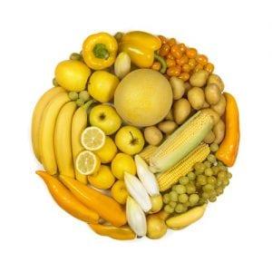 Alimentos amarillos.