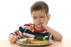 Neofobia alimentaria.