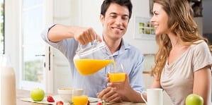 Jugos naturales para el desayuno