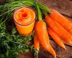 Propiedades beneficiosas de la Zanahoria