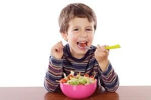 Ensaladas para el almuerzo de tus hijos
