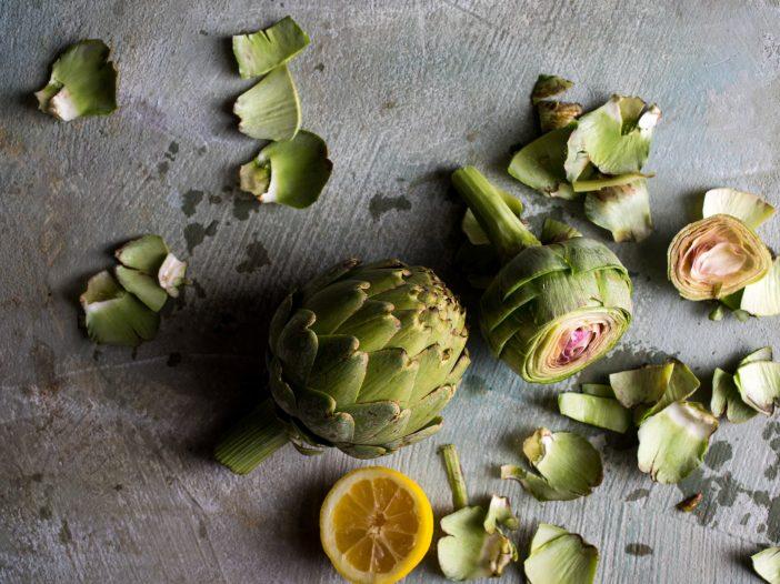 Alcachofa para la digestión